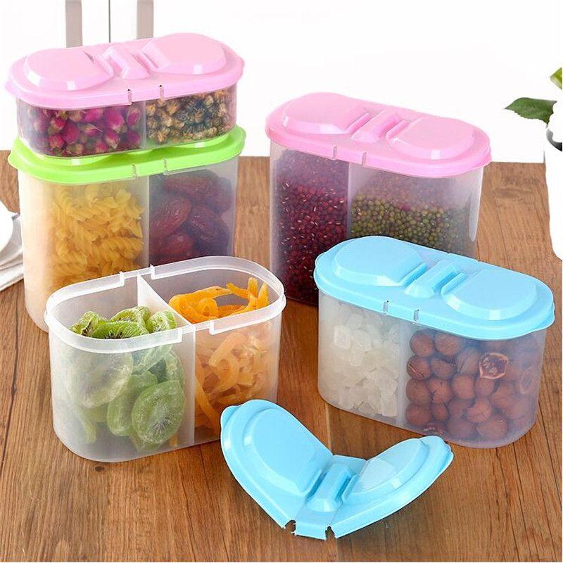 Home Acessories Container Box Kitchen Rice Storage Organizer Grain