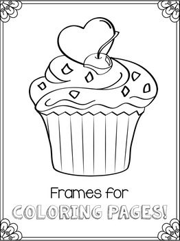 thin borders clipart perfect for coloring pages colouring border clip art comes in letter