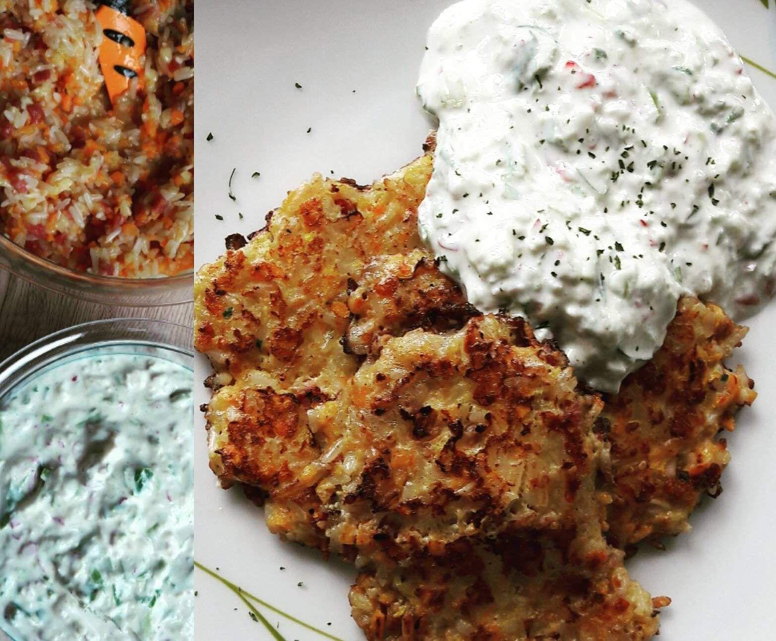 Rezept Reisbratlinge mit Knoblauch-Radieschen-Quark von thermomix_mama - Rezept der Kategorie Hauptgerichte mit Fleisch