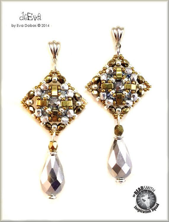 Eva Dobos-Hungary Miyuki Half Tila Beads | Beadsmith Inspiration ...