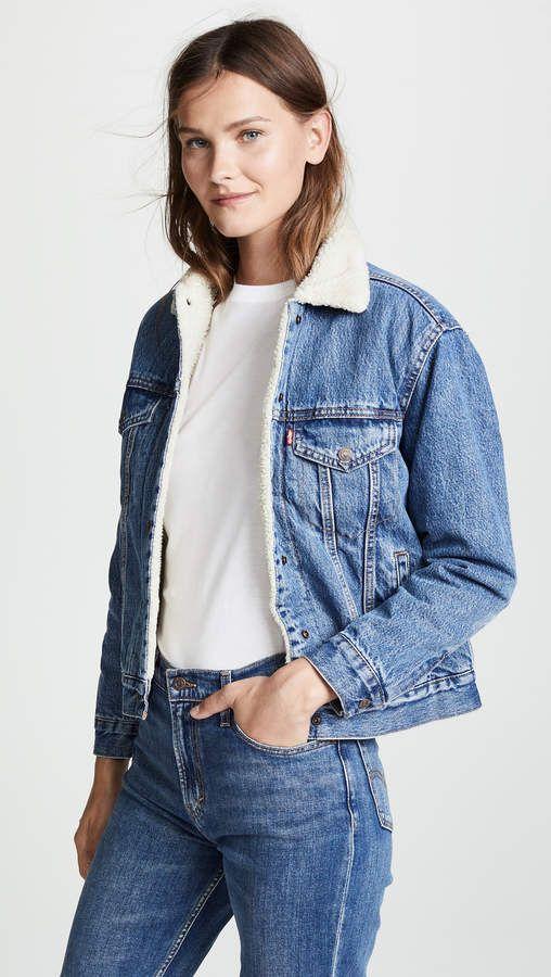 cd2049f584 Levi's Ex-Boyfriend Sherpa Trucker Jacket in 2019 | My Style ...