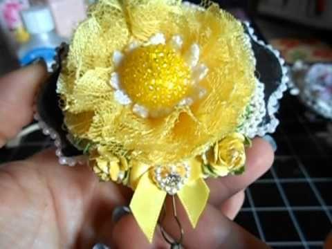 A few handmade embellies - YouTube