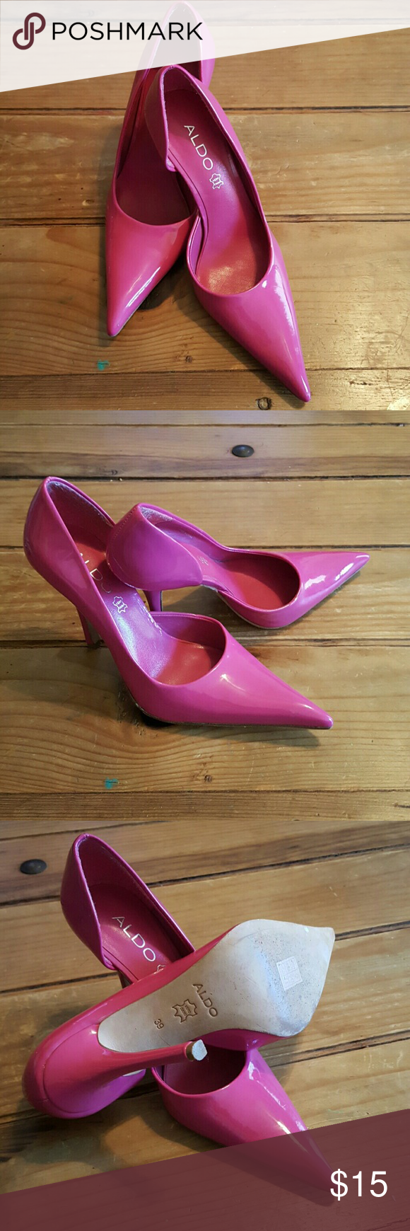 60dd3ffbf31d Hot Pink Sexy Aldo Stiletto Heels Purchased these for my wife