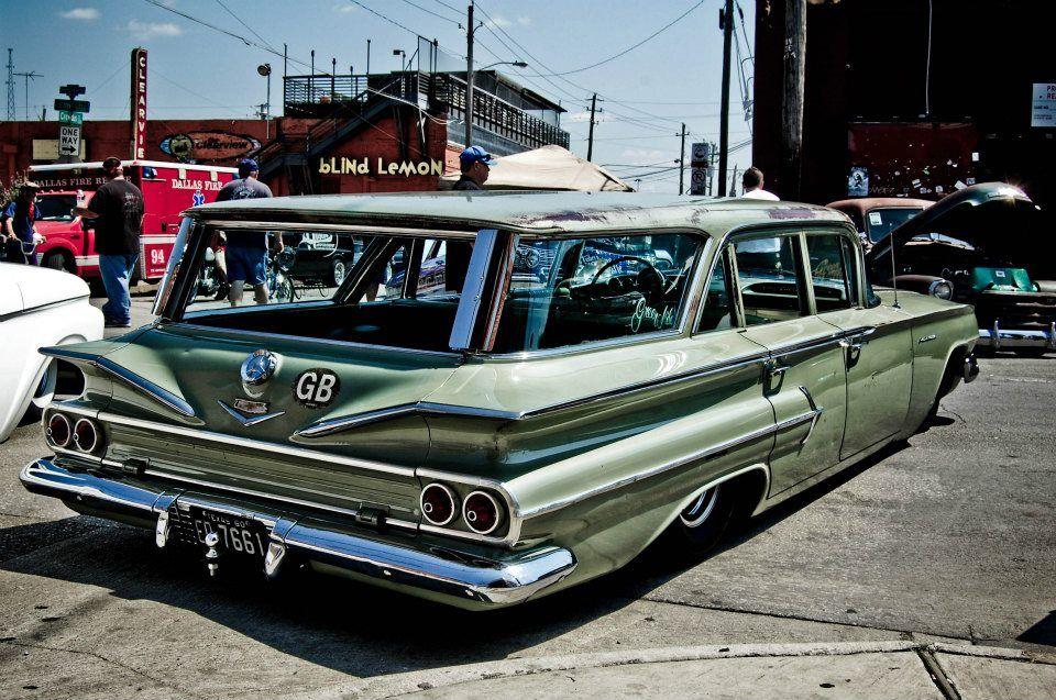 1960 Chevy Wagon Station Wagon Cars Cool Old Cars Wagon Cars