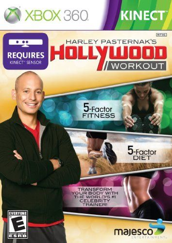 Harley Pasternaks Hollywood Workout Kinect Xbox 360 by