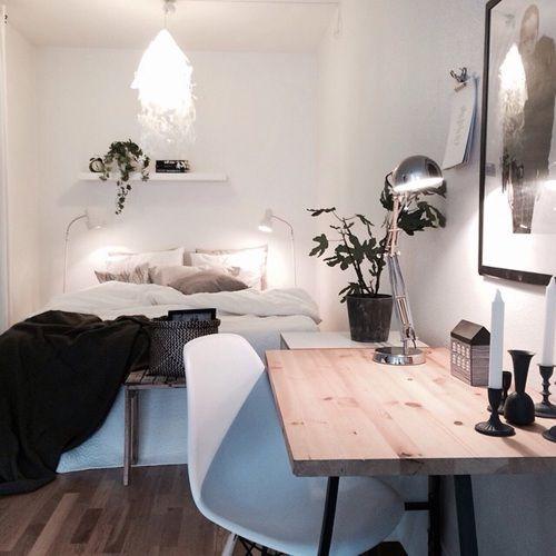 room, tumblr, and bedroom image Home Pinterest Schlafzimmer - schreibtisch im schlafzimmer
