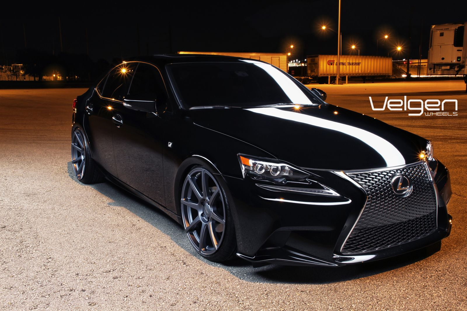 2014 Lexus IS250 F Sport // on Velgen Wheels // VMB8 Matte