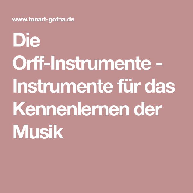 Instrumente kennenlernen online