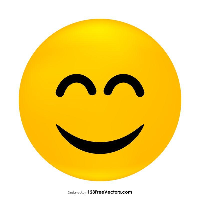 Smiling Face with Open Mouth and Smiling Eyes Emoji   Smile face, Emoji,  Eyes emoji