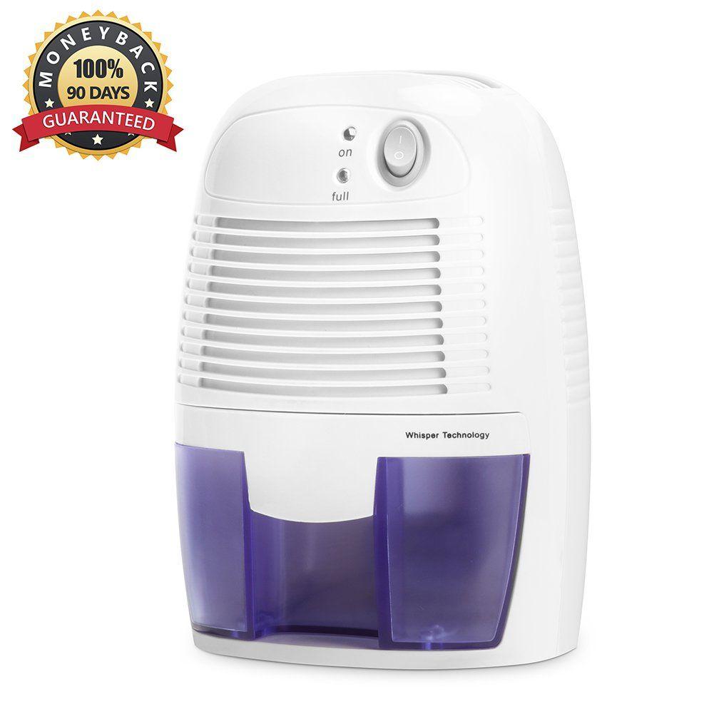 Mini Air Dehumidifier INOFIA 500ml Compact and Portable ...