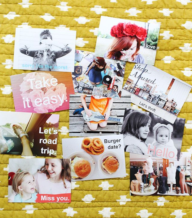 Spread a little love with Personalized Post Cards!