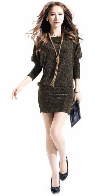 276434c907109 Gender  Women Sleeve Length(cm)  Full Pattern Type  Solid Dresses Length   Above Knee