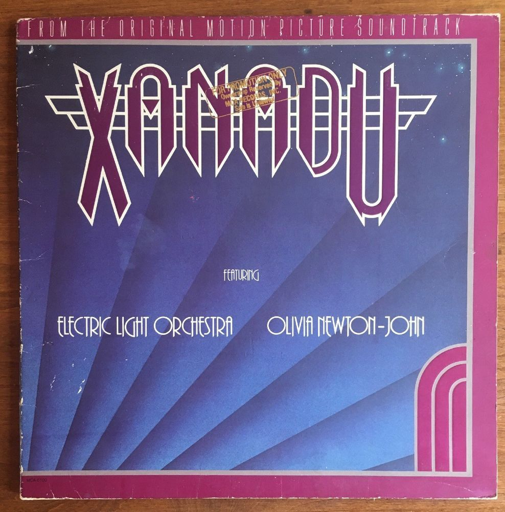 Xanadu Oliva Newton John Rare Us Gold Stamp Promo Vintage Vinyl Record Heatherscollectables Vintage Vinyl Records Album Cover Art Vintage Music