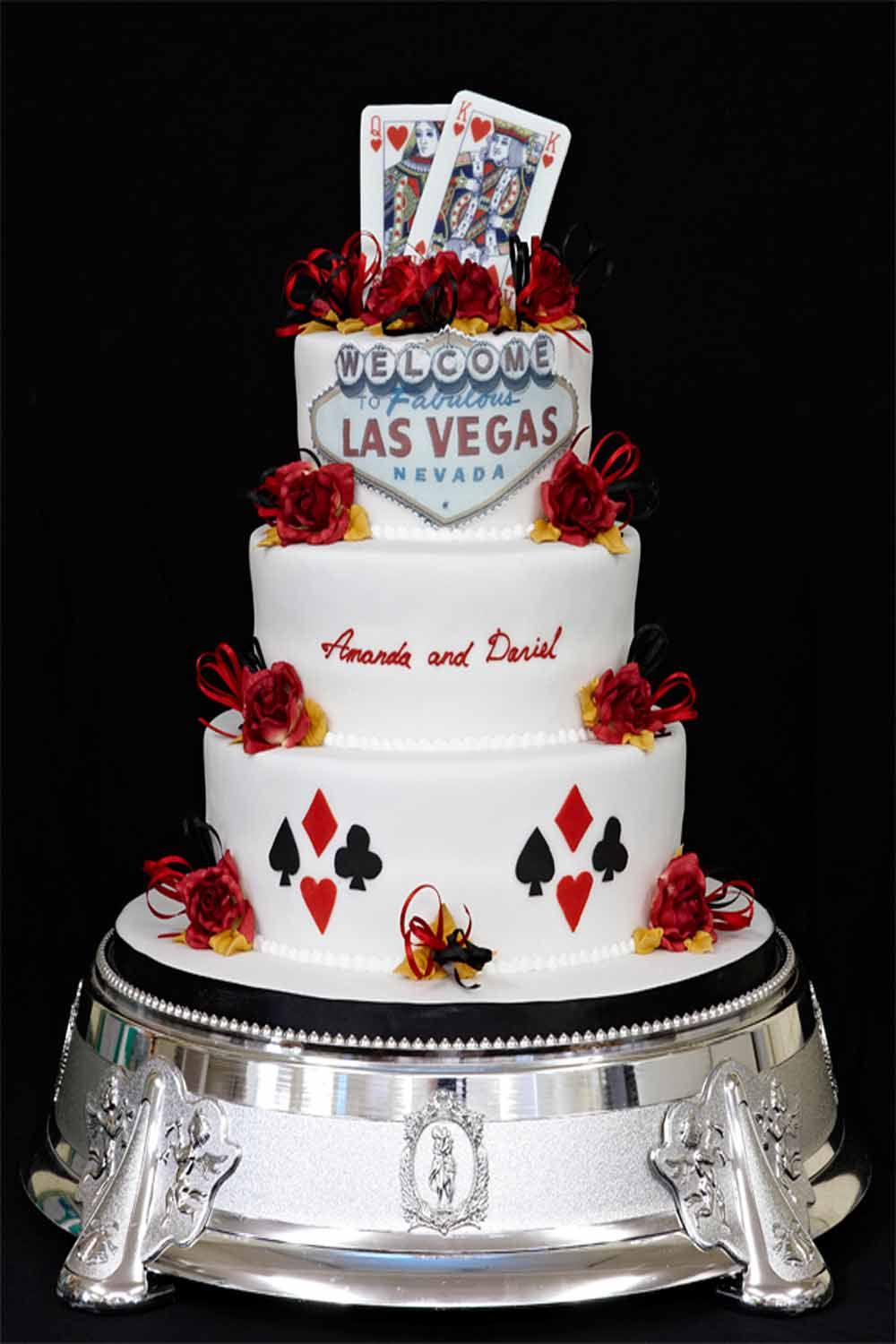 Las Vegas Wedding Cakes Bakery Simple Wedding Cakes Reception