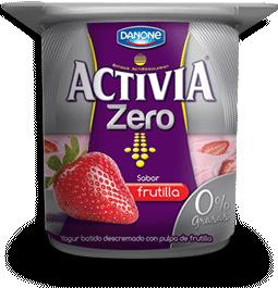 Yogurt Entero de Frutilla - #Activia #Chile