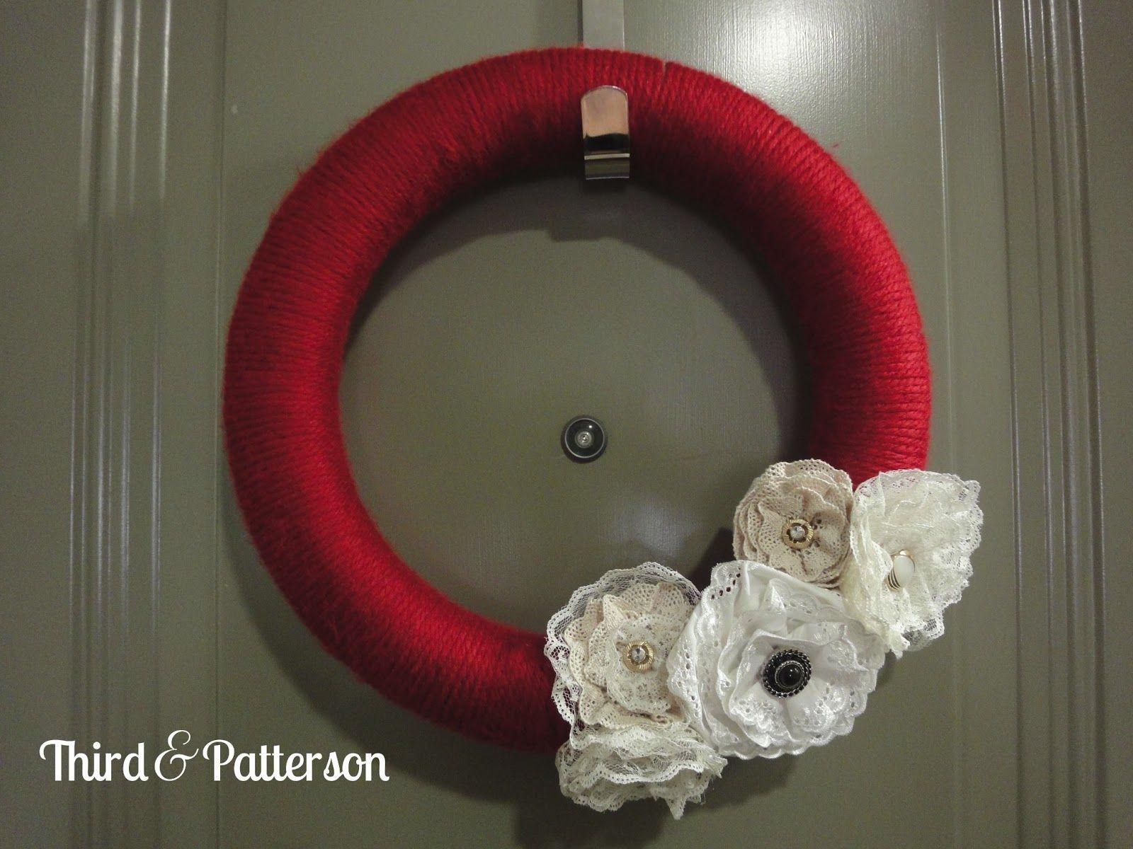 Third & Patterson Blog: Valentine's Day Wreath