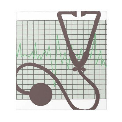 Medical Chart Notepad - nursing nurse nurses medical diy cyo