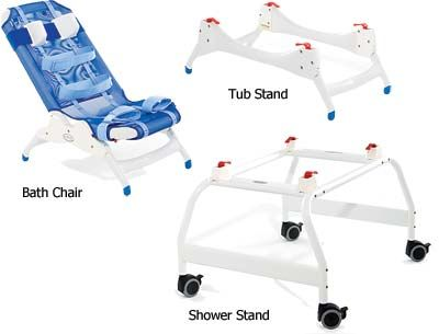 Rifton Blue Wave Bathing Chair And Bathing System | Bath U0026 SHower Chairs |  E Special Needs