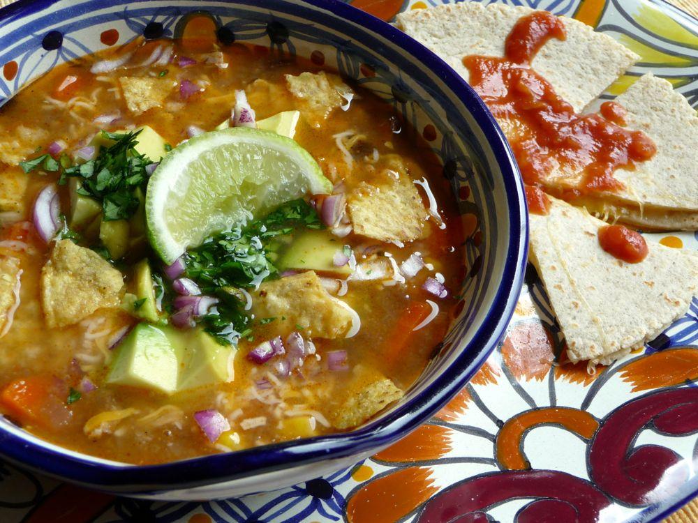 Chicken Tortilla Soup #chickentortillasoup