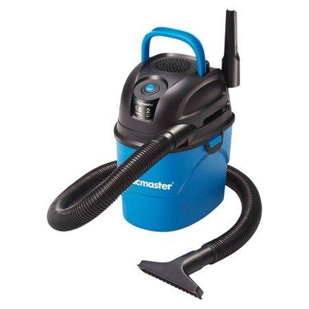 Vacmaster 1 5 Gallon Wet Dry Vac With Bonus Car Nozzle Wet Dry Vac Wet And Dry Wet Dry Vacuum