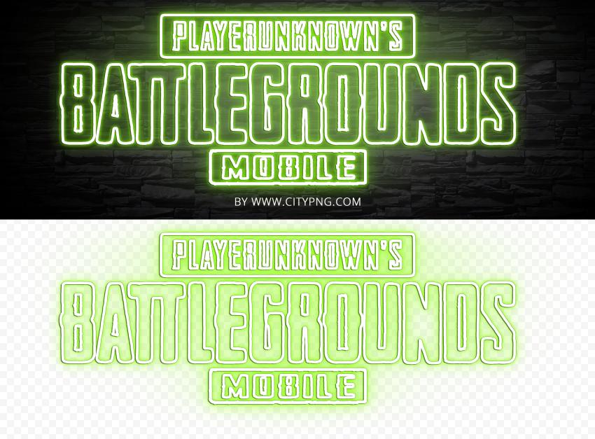 Hd Player Unknown Battlegrounds Pubg Green Light Neon Logo Png Neon Logo Logos Light Green