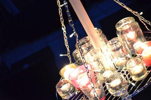Kronleuchter Outdoor ~ Diy outdoor chandelier aussen kronleuchter do it yourself