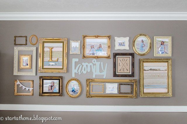 Gold Frame Gallery Wall Gold Frame Gallery Wall Gallery Wall