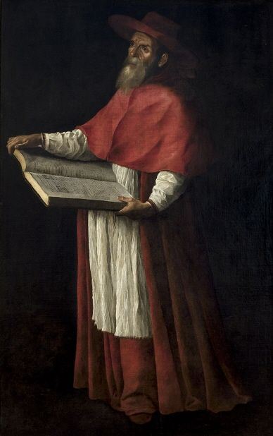 Francisco de Zurbarán. San Jerónimo. Entre 1626-1627