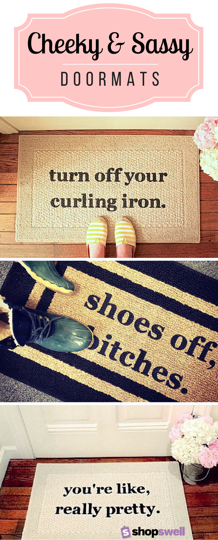 35 Door Mats To Give Your Guests A Warm Welcome For The