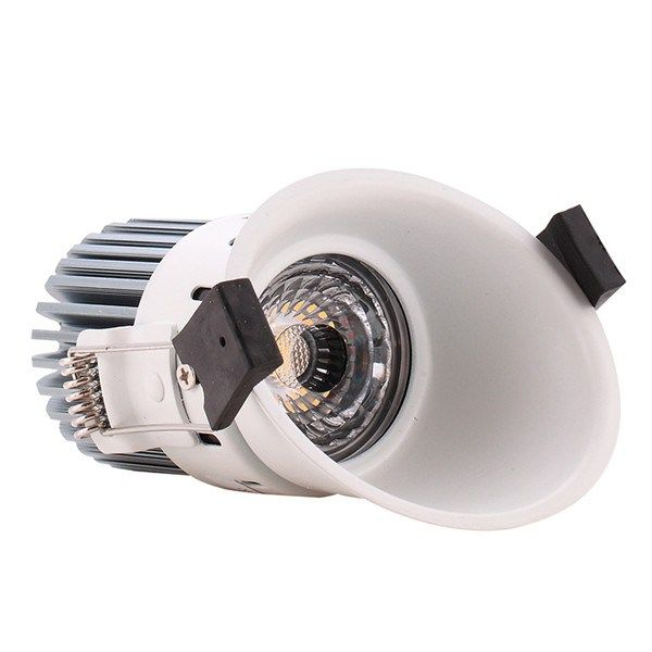 High Cri 5 Inch Dimmable 4500k 10w Cob Led Downlight In Montenegro I Downlights Glass Ceiling Lamps Led Ceiling Lights