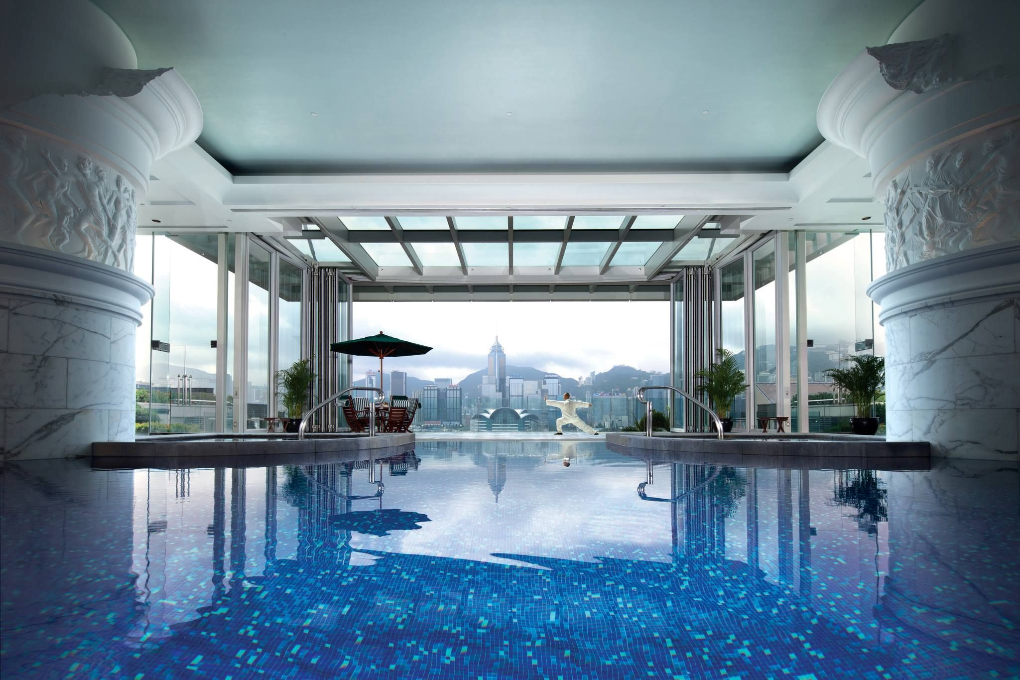 Peninsula Bangkok Indoor Pool Thailand