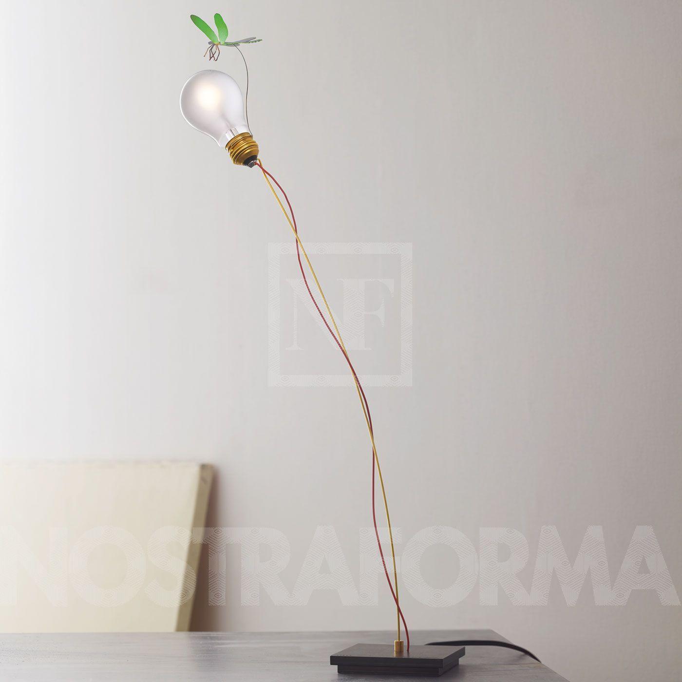 Ingo Maurer I Ricchi Poveri bzzzz table lamp »NOSTRAFORMA design Shop for Lighting