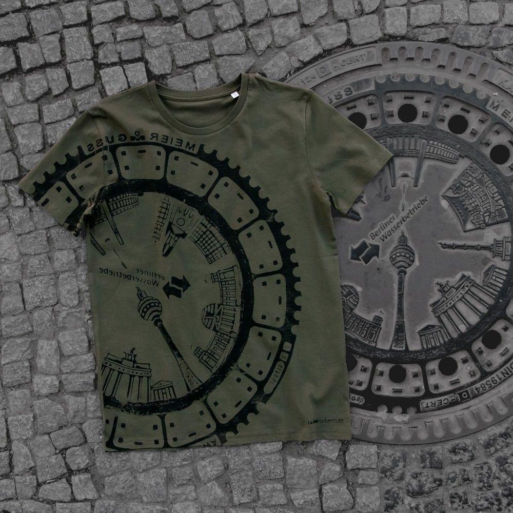Raubdruckerin Original Gullideckel Drucke Auf Shirts Taschen Shirts Drucken Drucktechnik