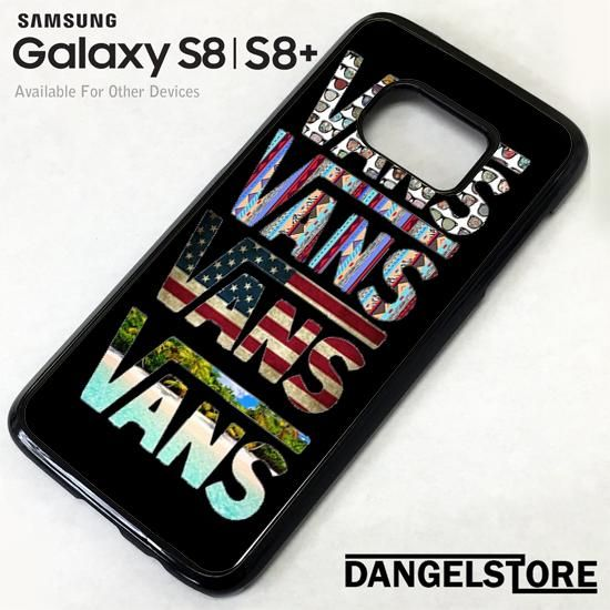 a3b531b335bede vans collage custom For Samsung S8