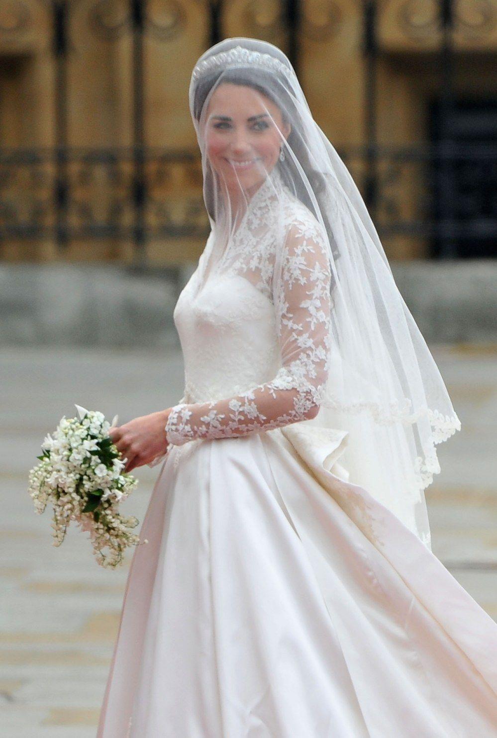 Vestido De Novia Princesa Kate Middleton Vestidos Novia