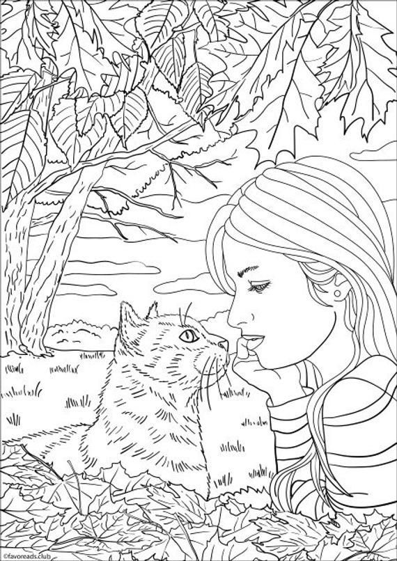 True Love Printable Adult Coloring Page From Favoreads