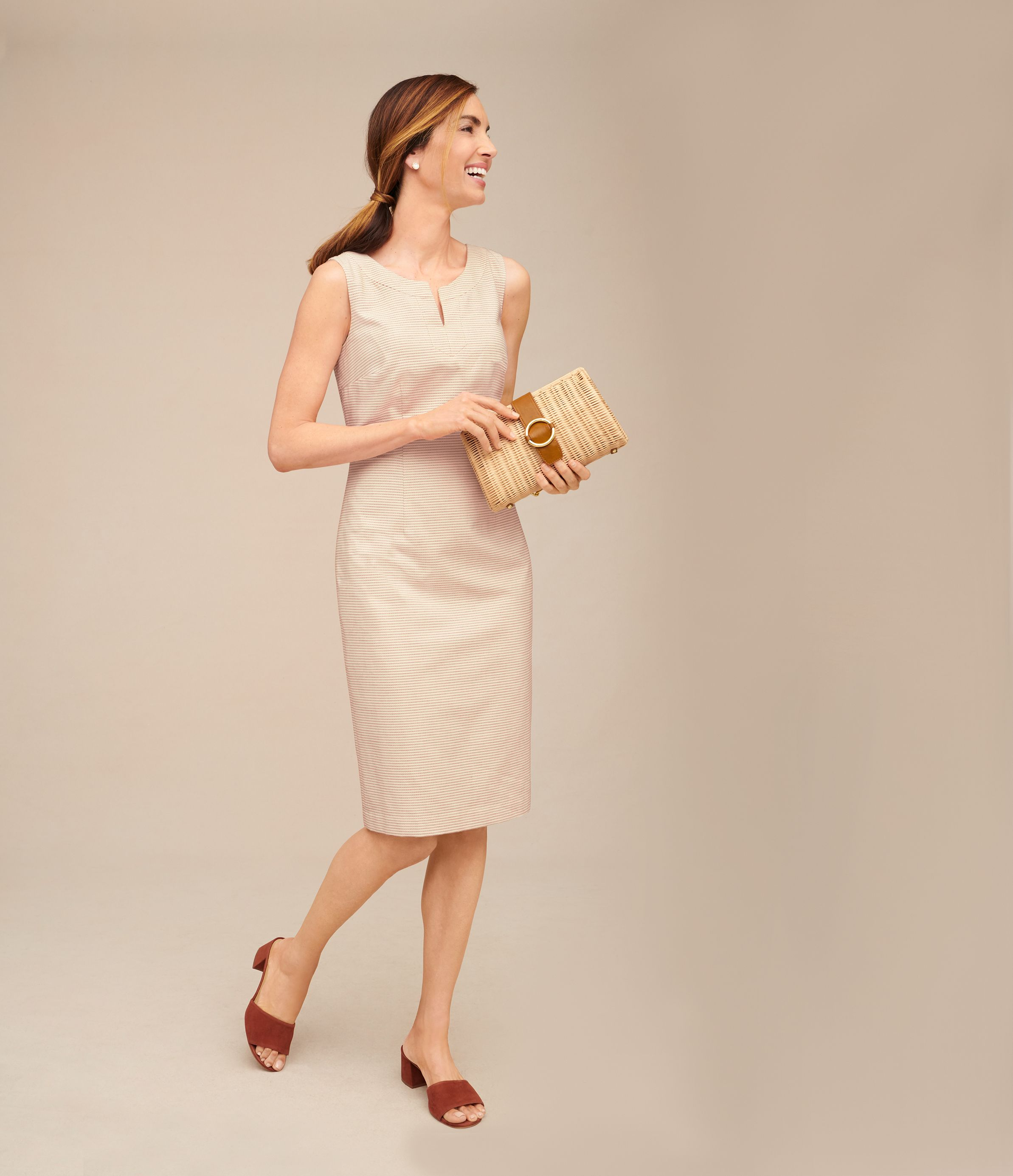 Expertly Tailored For A Fitting Fit Talbots Wear To Work Dresses Talbots Dress Sheath Dress [ 2770 x 2386 Pixel ]