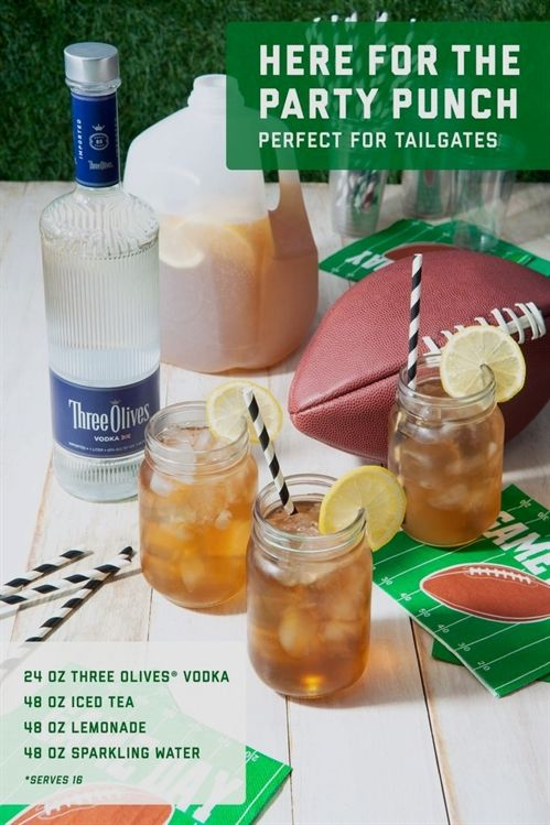 Three Olives VodkaThree Olives® Here-For-The-Party Punch #fiberfruits