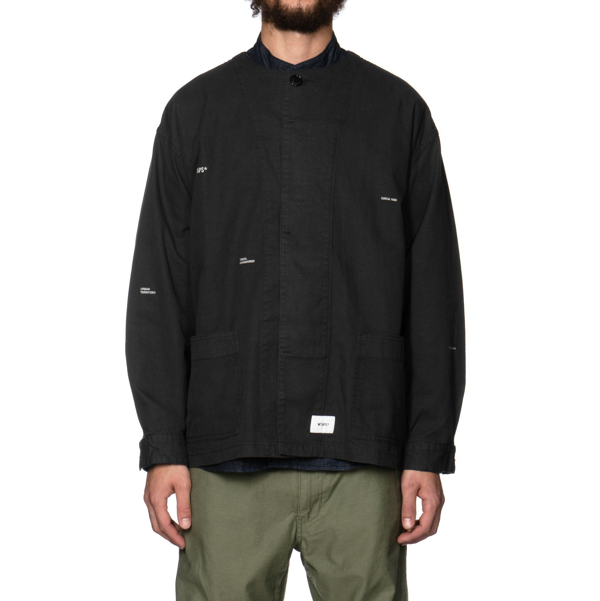 77202def2a9f4 WTAPS Skit   Shirt. Cotton. Serge Black