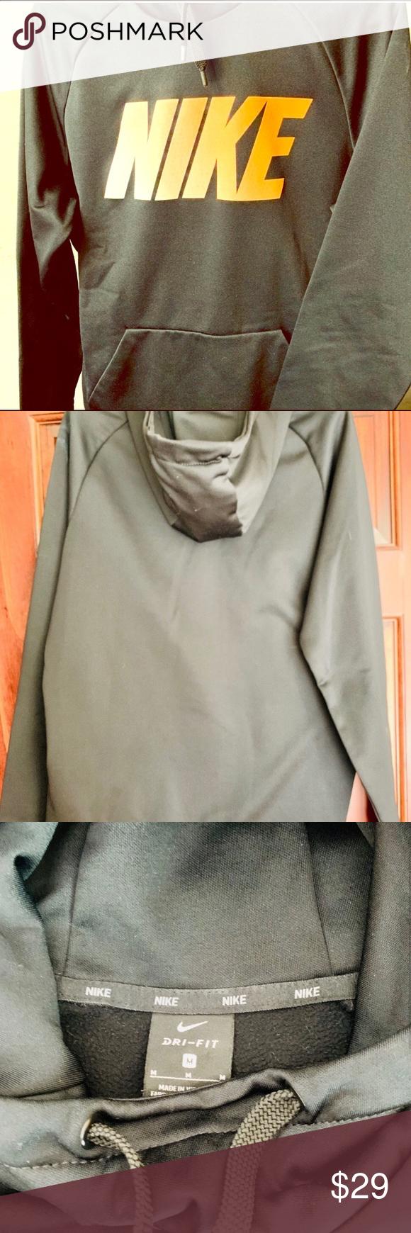 Nike Dri Fit Hooded Sweatshirt Sz M Hooded Sweatshirts Sweatshirts Nike Dri Fit [ 1740 x 580 Pixel ]
