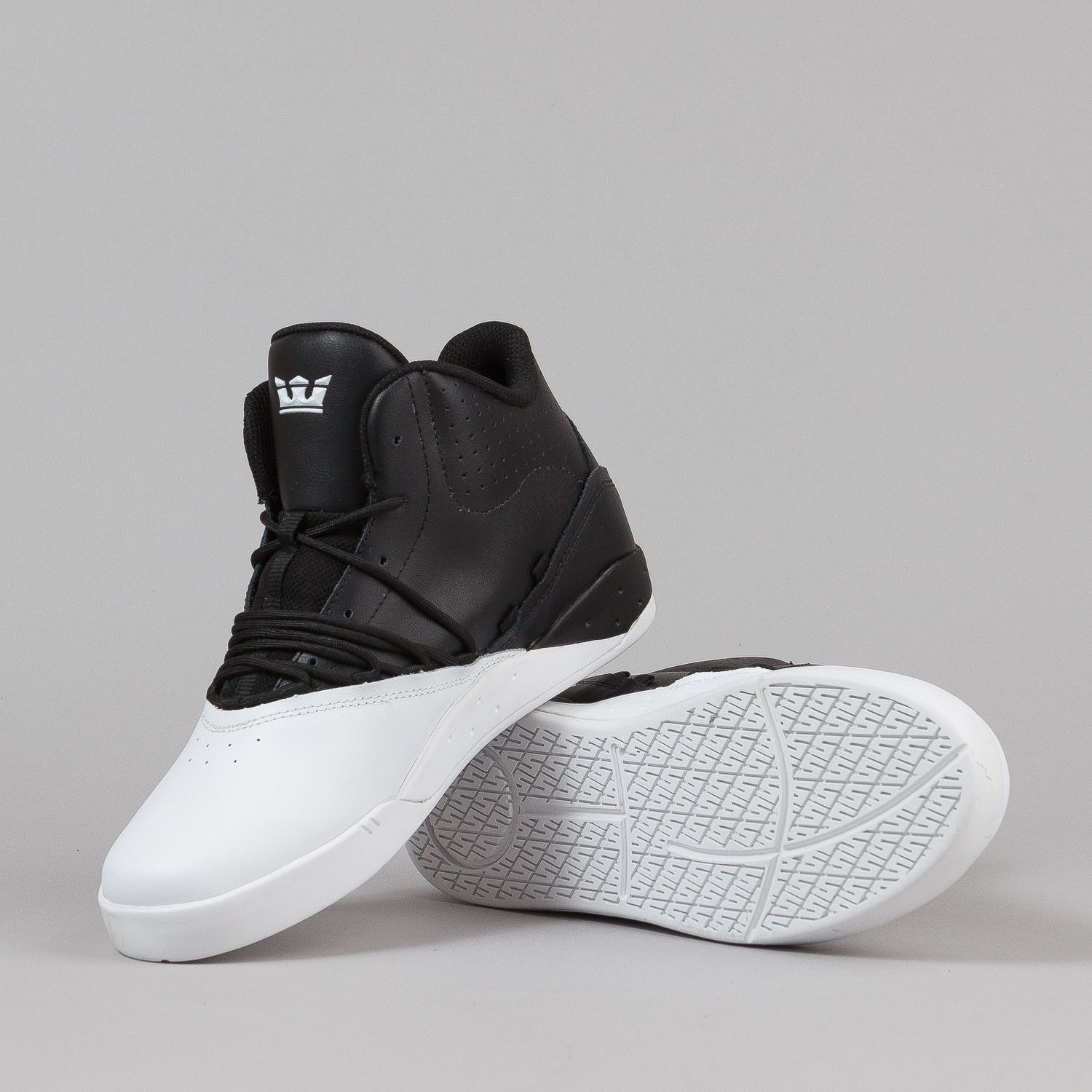 cheaper b99f8 fe303 Supra Estaban Shoes - Black   White   White