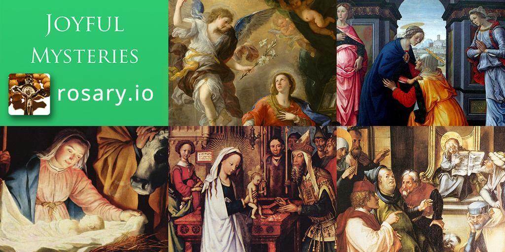 Rosary App on iPhone on Twitter Rosary, Catholic faith
