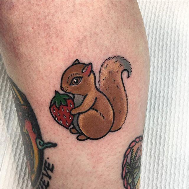 Squirrel Cuteness Goodlucktattoo Photo Taken By