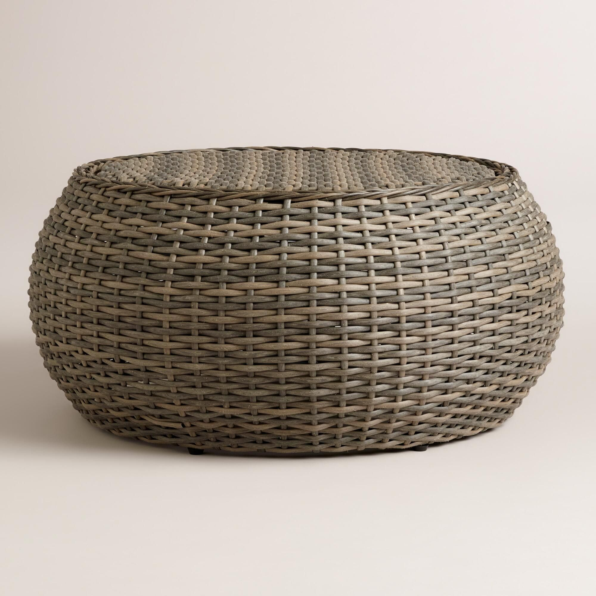 Our fully assembled, round coffee table is a casual ...