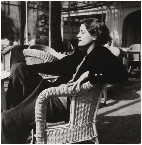 Lee Miller, Juan les Pins, Antibes ,France, 1930 by Man Ray