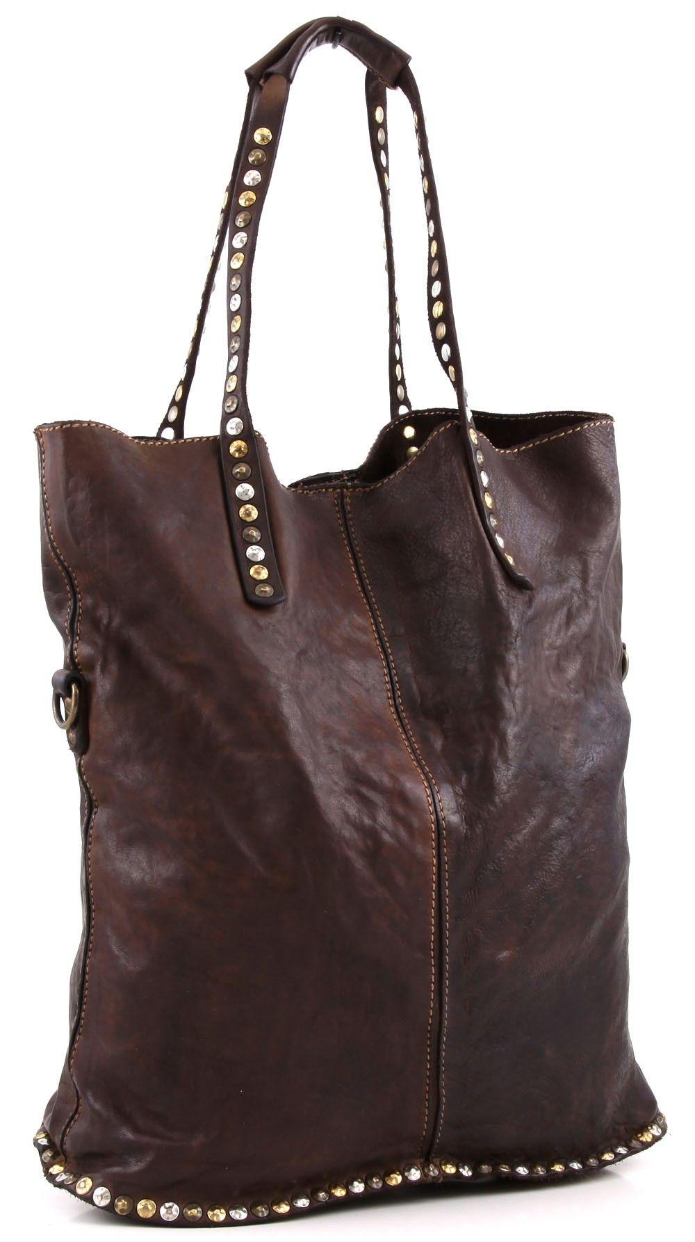 Lavata Shopper Leder dunkelbraun 37 cm | Taschen, Campomaggi