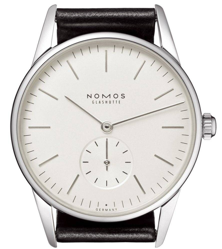 Nomos Glashutte Watch Orion White #bezel-fixed #brand-nomos-glashutte #case-depth-7-25-mm #case-material-steel #case-width-35-mm #delivery-timescale-call-us #dial-colour-white #gender-mens #luxury #movement-manual #official-stockist-for-nomos-glashutte-watches #packaging-nomos-glashutte-watch-packaging #subcat-orion #supplier-model-no-331 #warranty-nomos-glashutte-official-2-year-guarantee