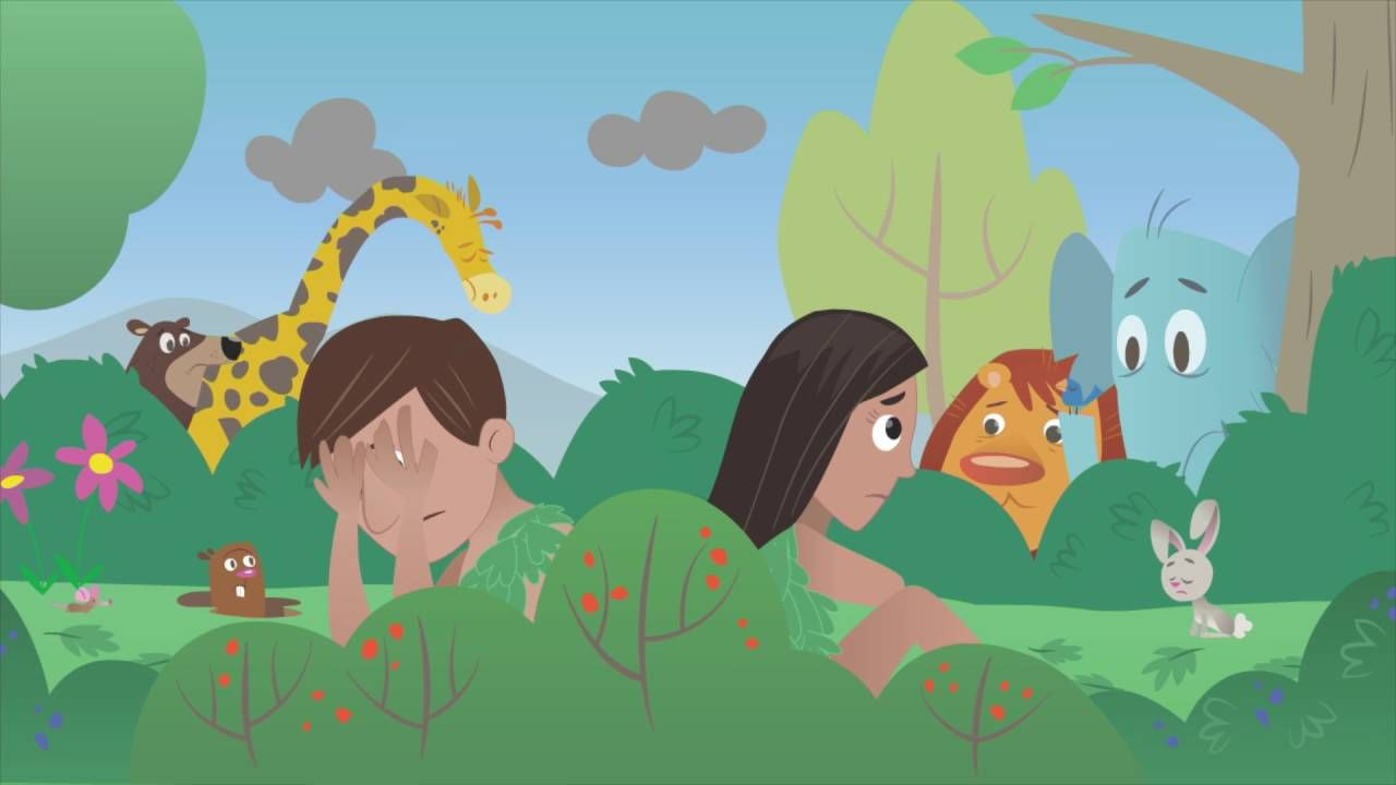 Bible App for Kids - The First Sin @ https://youtu.be/fUTSJRpwLVw ...
