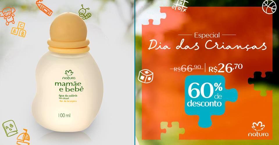 Compre Na Rede Natura A Agua De Colonia Mamae E Bebe Flor De
