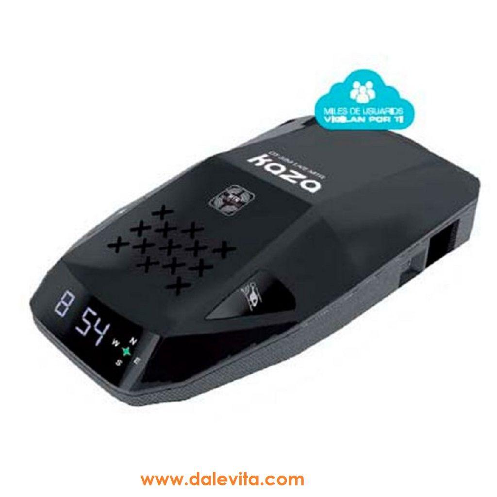 Kaza Dt 390 Live Mtr Avisador De Radares Internacional Con